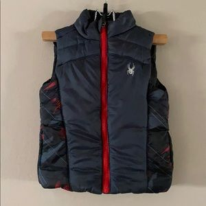 NWOT Toddler Spyder Full Zip Vest 2T
